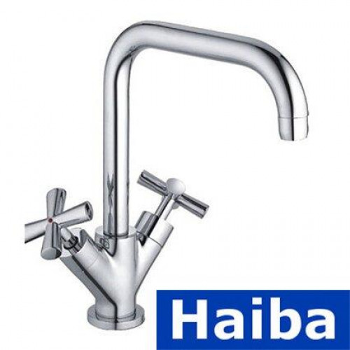 Смеситель для кухни Ухо HAIBA SENTOSA J (Chr-011)