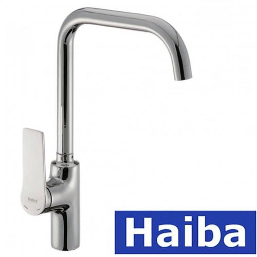 Смеситель для кухни Ухо HAIBA Novak (Chr-017)