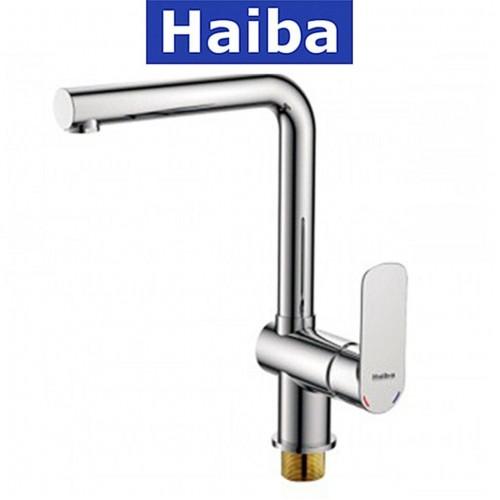 Смеситель для кухни Ухо HAIBA ASIO (Chr-018)