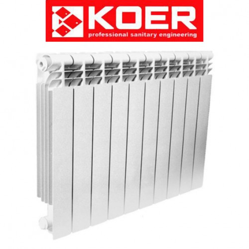 Биметаллический радиатор Koer 500/96