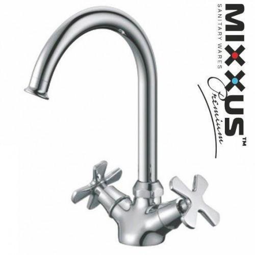 Смеситель для кухни ухо MIXXUS Premium Fobos (Chr-275), Польша