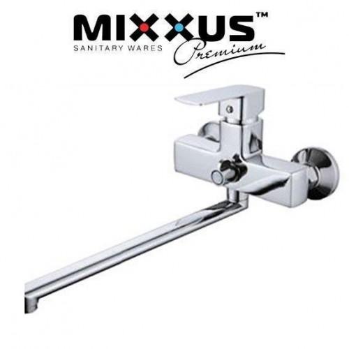 Смеситель для ванны длинный нос Mixxus Finio Euro (Chr-006)