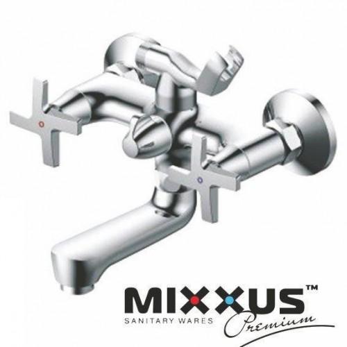 Смеситель для ванны короткий нос MIXXUS Premium Galaxy Euro (Chr-142), Польша