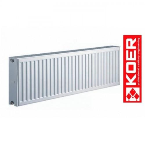 Стальной радиатор Koer 300/800 тип 22 Чехия