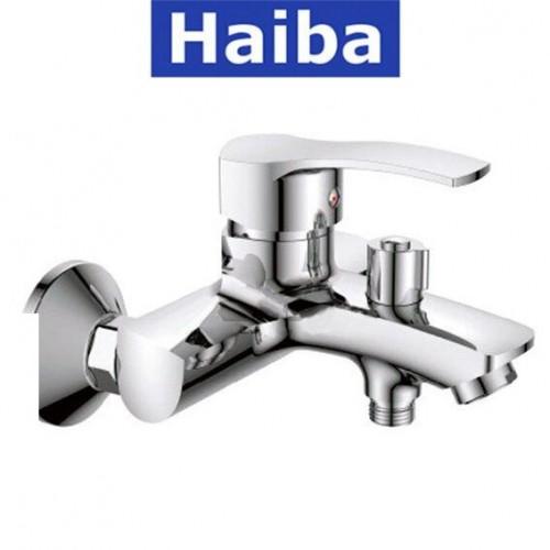 Смеситель для ванны короткий нос HAIBA ONIX EURO (Chr-009)