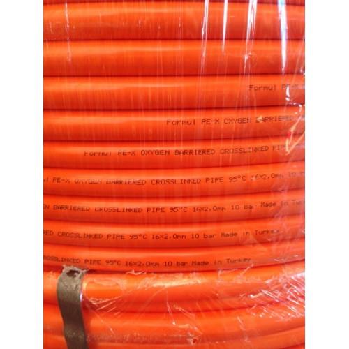 Труба для теплого пола FORMUL (с кислородным барьером) 100 м.