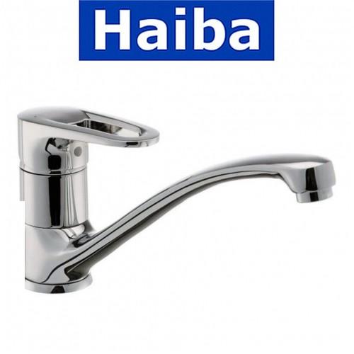 Смеситель для кухни елка литая HAIBA OPUS (Chr-012)
