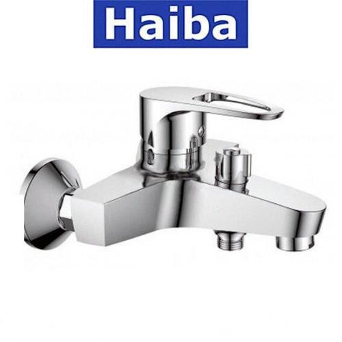 Смеситель для ванны короткий нос HAIBA XIDE EURO (Chr-009)