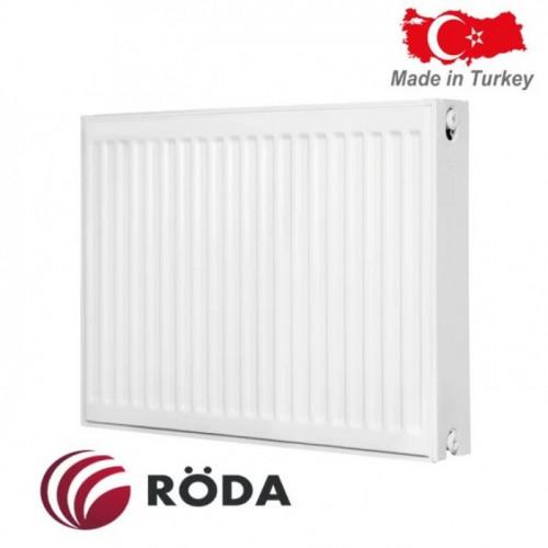 Стальной радиатор Roda 22 R тип (500/700) Турция