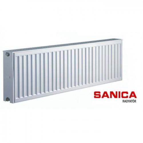 Стальной радиатор Sanica тип 22 (300/3000) Турция