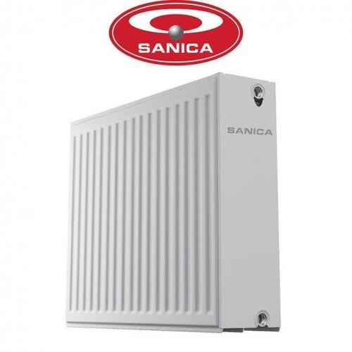 Стальные радиаторы Sanica 33 500*1000 Турция (боковое подключение)