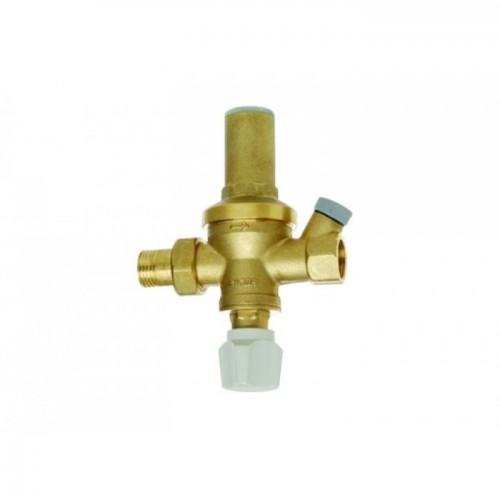 """Подпиточный клапан со встроенным запорным клапаном и фильтром (1/2"""")"""