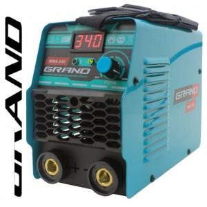Сварочный аппарат инверторный Grand MMA-340 для ручной сварки (LCD-дисплей)