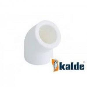Kalde WHITE Колено 25х45 (50/200)
