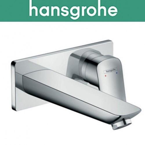 Смеситель Hansgrohe (art 71220000) Logis для умывальника, настенный, излив 195 мм