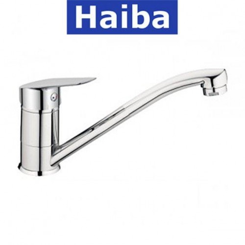 Смеситель для кухни елка на шпильке 25см HAIBA NIKAS (Chr-004)
