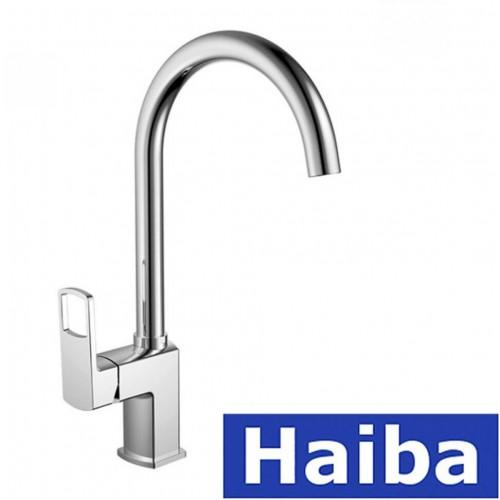 Смеситель для кухни Ухо HAIBA FENIX (Chr-017)