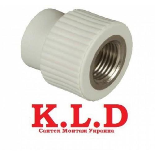 Муфта с внутренней резьбой K.L.D. (МРВ) 20х1/2F