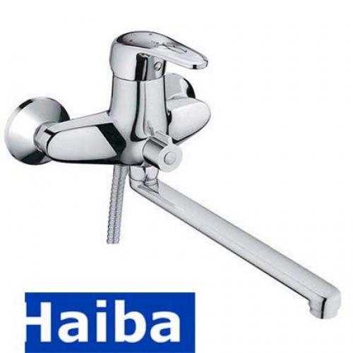 Смеситель для ванны длинный нос HAIBA MAGIC EURO (Chr-006)