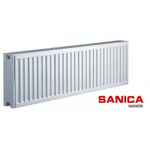 Стальной радиатор Sanica тип 22 (300/1800) Турция