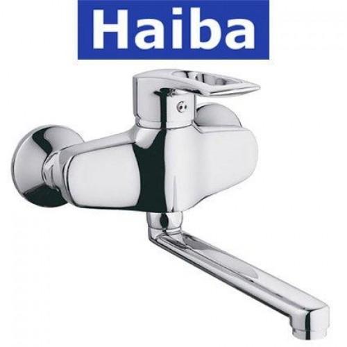 Смеситель для кухни от стены HAIBA HANSBERG (Chr-005)