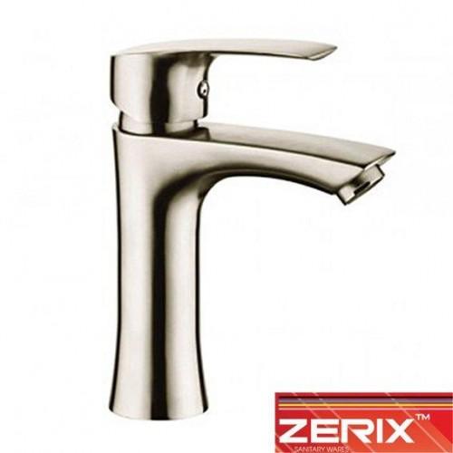 Смеситель для умывальника Zerix LR71001 (нержавейка)