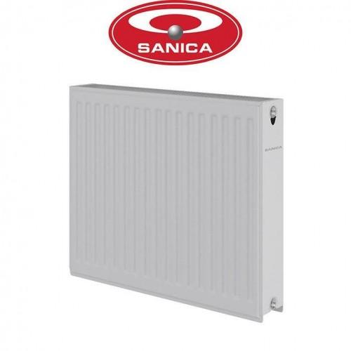 Стальные радиаторы Sanica 22 500*800 Турция (боковое подключение)