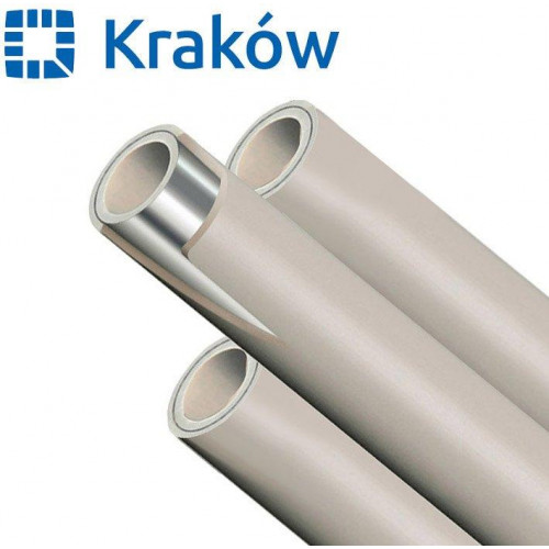 Труба полипропиленовая PPR Krakow Stabi с алюминием d20, Польша