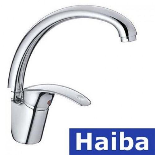 Смеситель для кухни Ухо HAIBA MARS (Chr-011)