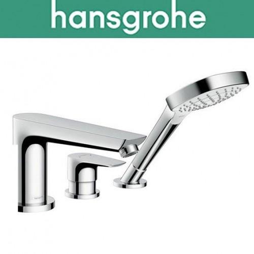 Смеситель Hansgrohe (art 71730000) для ванной встраиваемый Talis на 3 отверстия