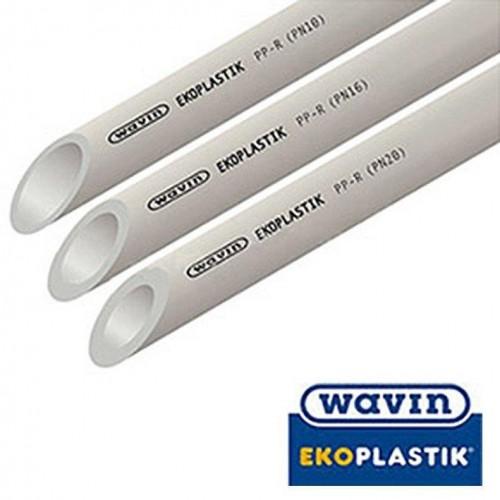 WAVIN EKOPLASTIK Труба PN20 d50, Чехия (цена за 1 м.п.)