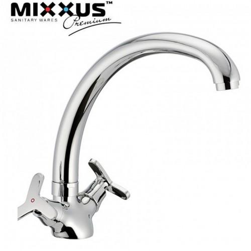 Смеситель для кухни ухо MIXXUS Premium Apollo (Chr-273), Польша