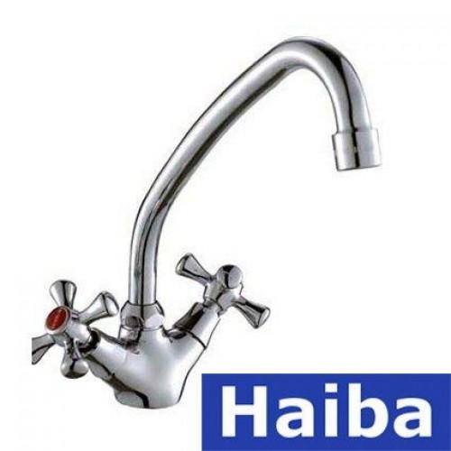 Смеситель для кухни HAIBA SMES (Chr-271)