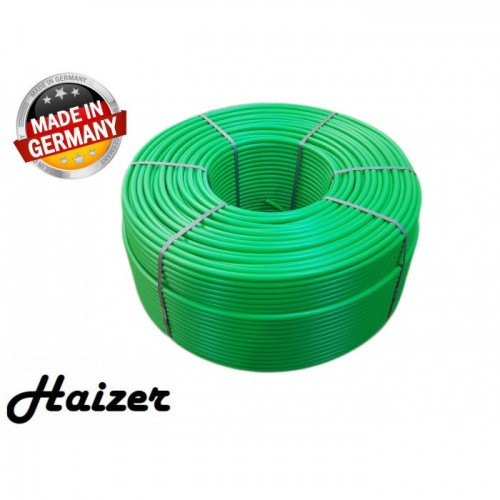 Труба для теплого пола Haizer 16x2.0 мм. PEX-A с кислородным барьером 300 метров.