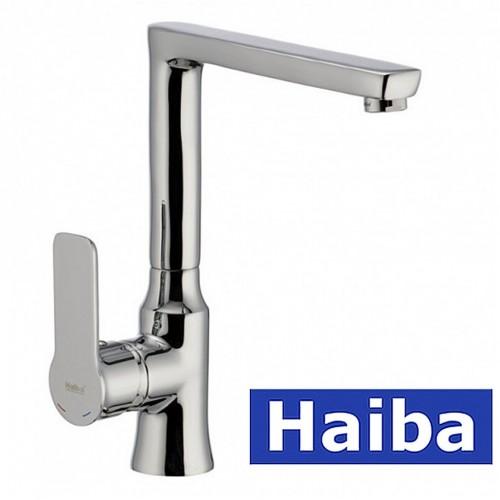 Смеситель для кухни Ухо HAIBA HOUSTON (Chr-017)