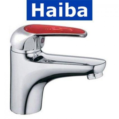 Смеситель для умывальника HAIBA MAGIC RED (Chr-001)