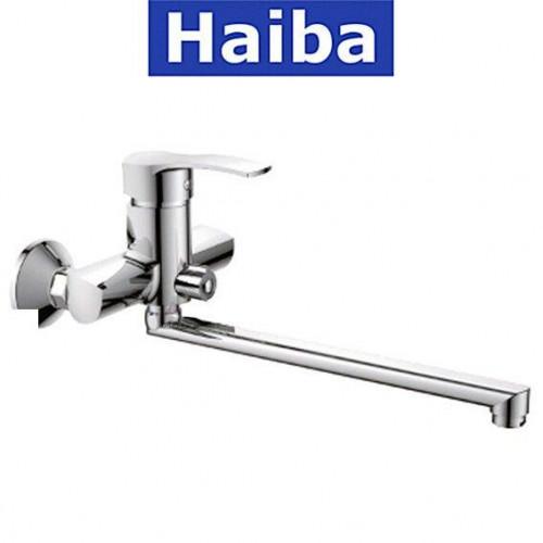 Смеситель для ванны длинный нос HAIBA XIDE EURO (Chr-006)