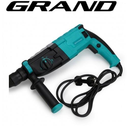 Перфоратор Grand ПЭ-1500 DFR прямой (съемный патрон)