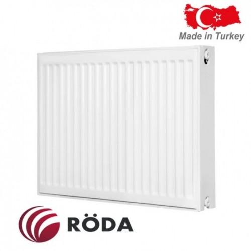 Стальной радиатор Roda 22 R тип (600/1100) Турция