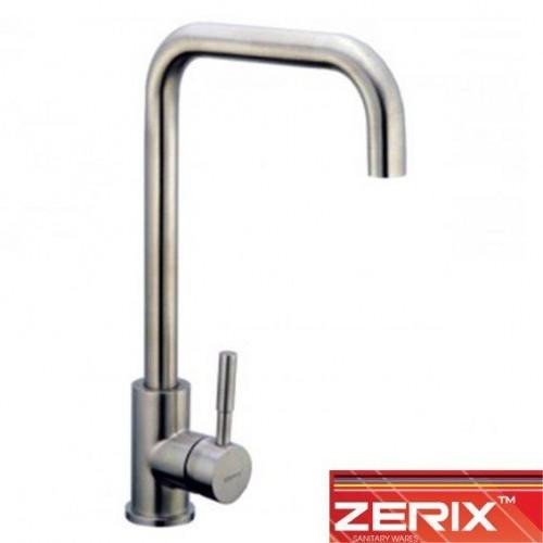 Смеситель для кухни Ухо Zerix LR4998-4 (нержавейка)