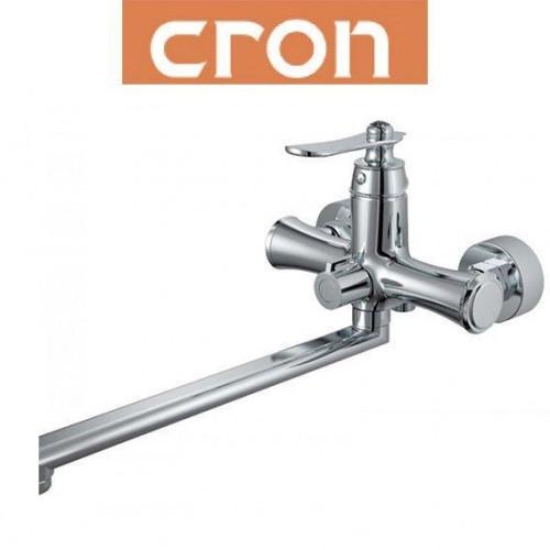 Смеситель для ванны длинный нос Cron Diamond EURO (Chr-006)