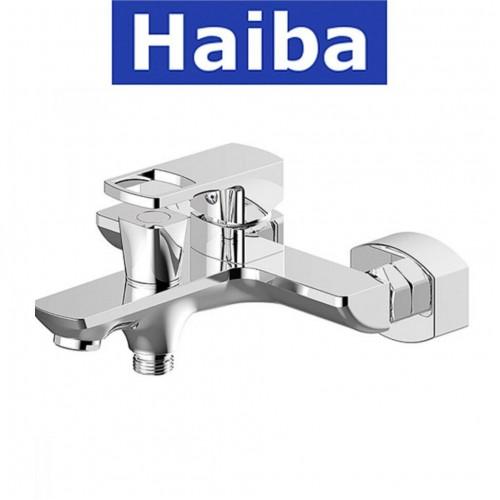 Смеситель для ванны короткий нос HAIBA FENIX EURO (Chr-009)