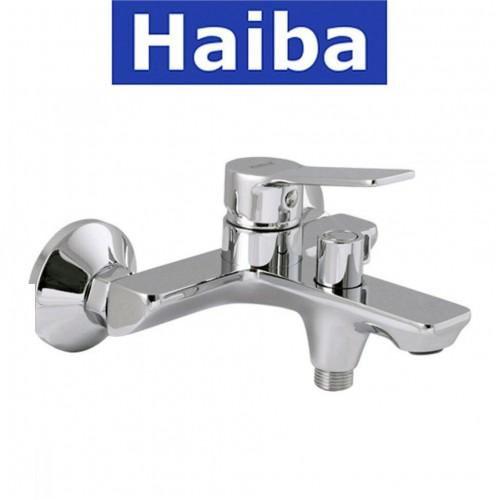 Смеситель для ванны короткий нос HAIBA DIANA EURO (Chr-009)