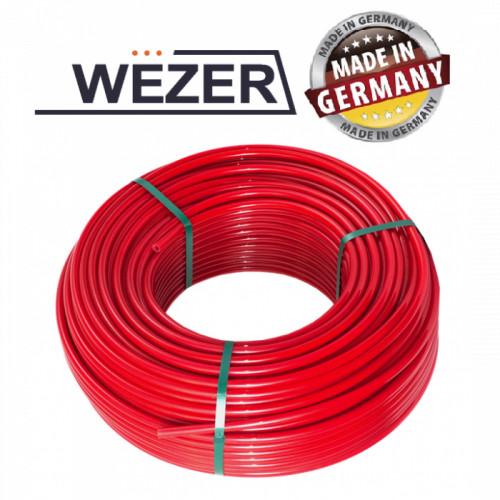 Труба для теплого пола Wezer 16x2.0 PE-RT с кислородным барьером