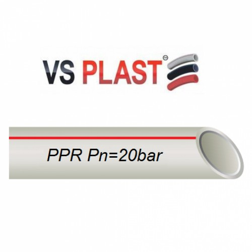 Труба VS Plast PPR Stabi PN25 25x3.5