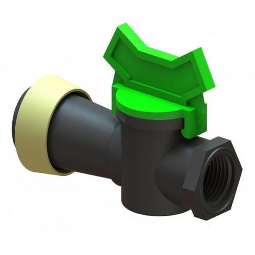 KT 50 BP кран мини туман д.50 с ВР 1/2