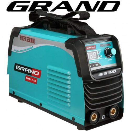 Сварочный инвертор Grand ММА-350 PROFFESSIONAL (дисплей)