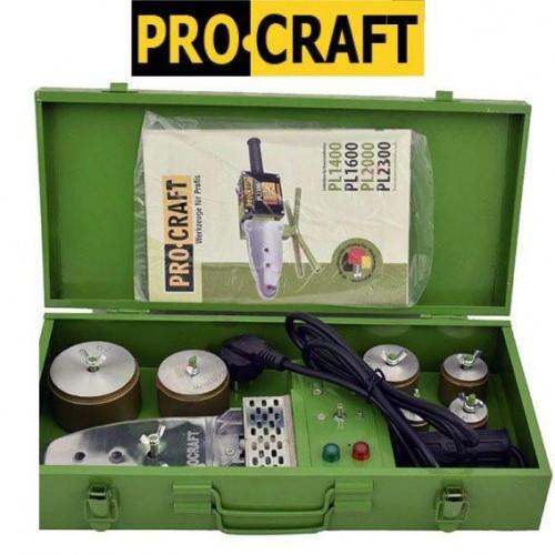 Паяльник для полипропиленовой трубы ProCraft PL1600