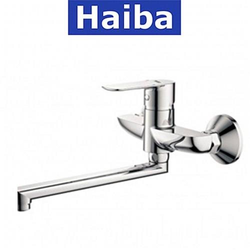 Смеситель для кухни от стены HAIBA ASIO Chr-008