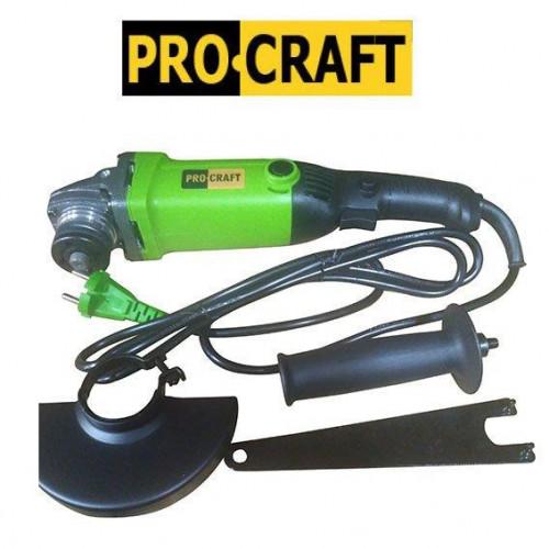 Машина угловая шлифовальная  ProCraft PW-1200 Е 125 мм
